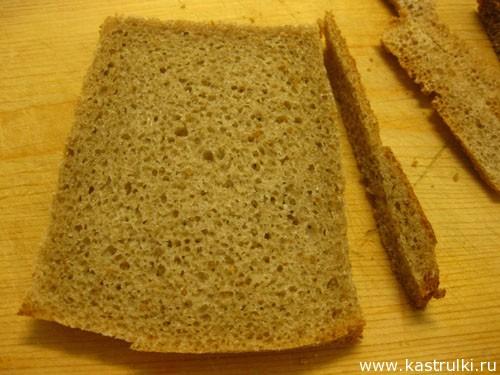 Корзиночки из хлеба