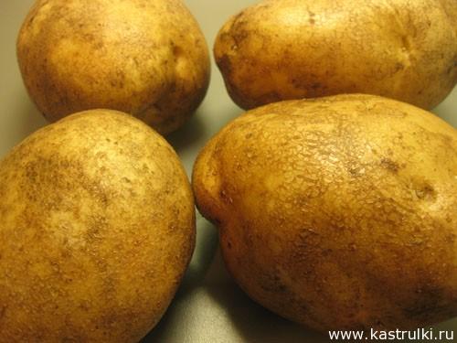 Пошаговое запекание картошки в духовки