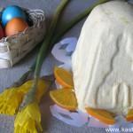 Пасха из рикотты с апельсинами