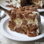 Торт из шоколадных пряников (без выпечки)