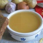 Суп-пюре из желтой (или красной) чечевицы