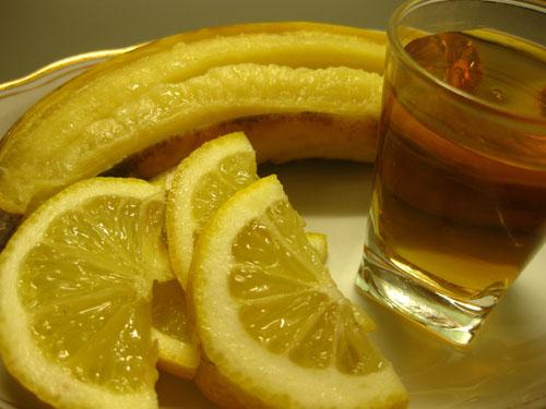 Банановая закуска под коньяк