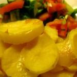 Картошка, запеченная под молоком
