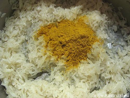 Рис с карри