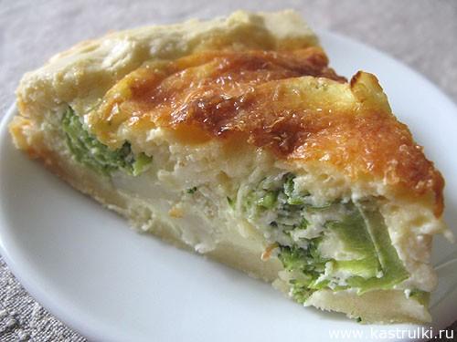 Пирог с цветной капустой или брокколи