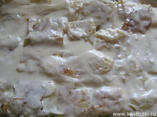 Капуста, запеченная с сыром