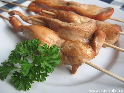 Куриные шашлычки