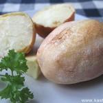 Печеная картошка (без мундира)