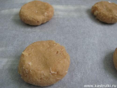 Печенье из арахисового масла