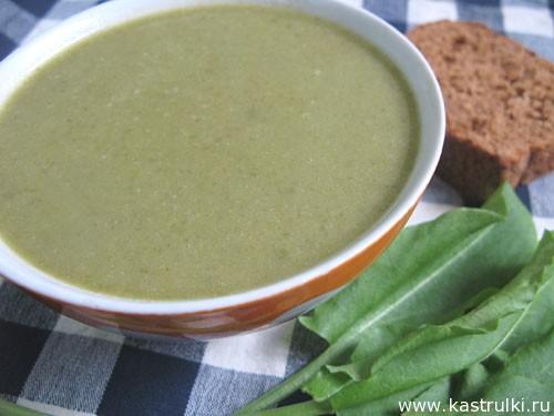 Щавелевый суп-пюре