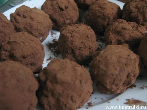 Ореховые конфеты с пьяной начинкой