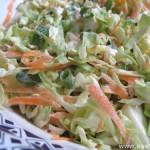 Салат из молодой капусты с яблочным уксусом